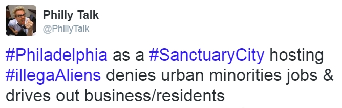 tweet sanctuary city